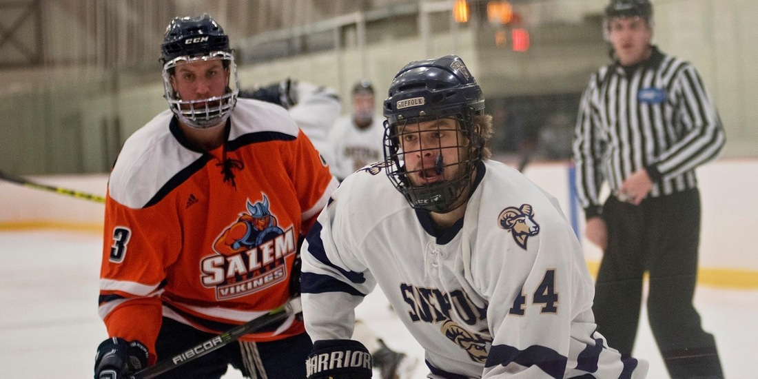 Southern Maine Stalls Men's Hockey, 2-0