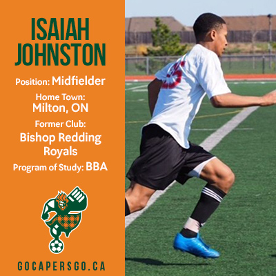 MSOC: CAPERS announce signing of Isaiah Johnston
