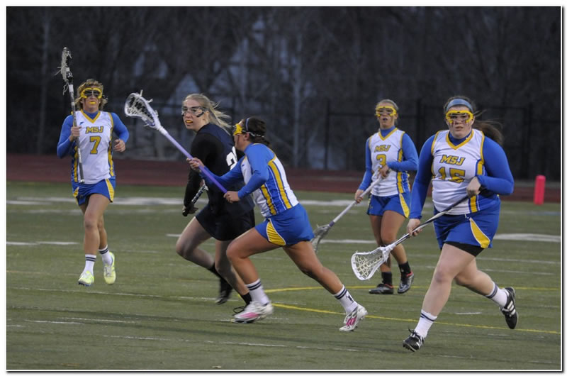 Lions' women's lacrosse team posts second straight win with a home victory over Linfield College