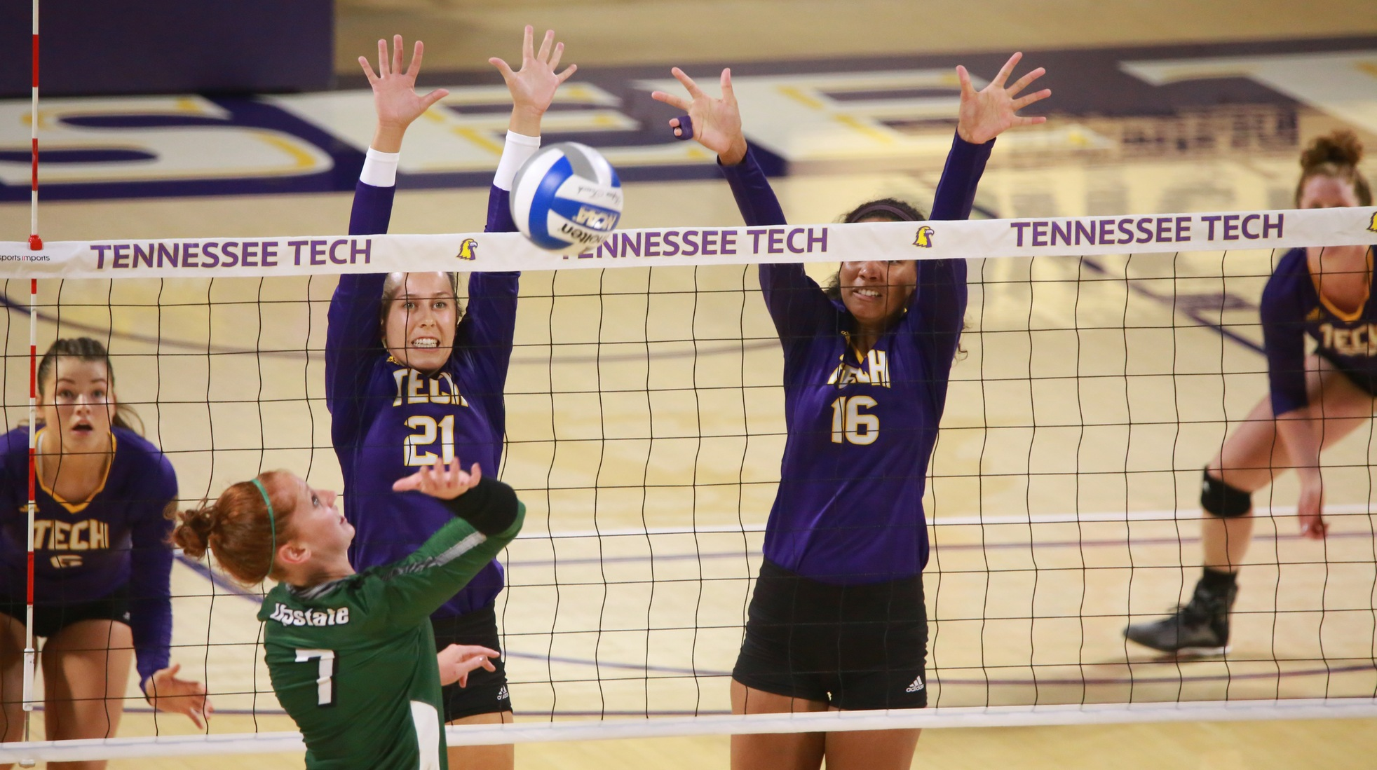 TTU volleyball welcomes Chattanooga in nonconference match Tuesday night