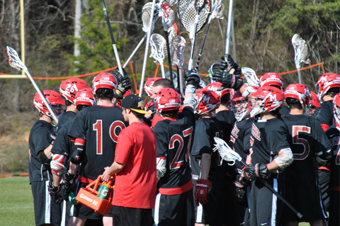 LAX Drops Season Opener at Curry