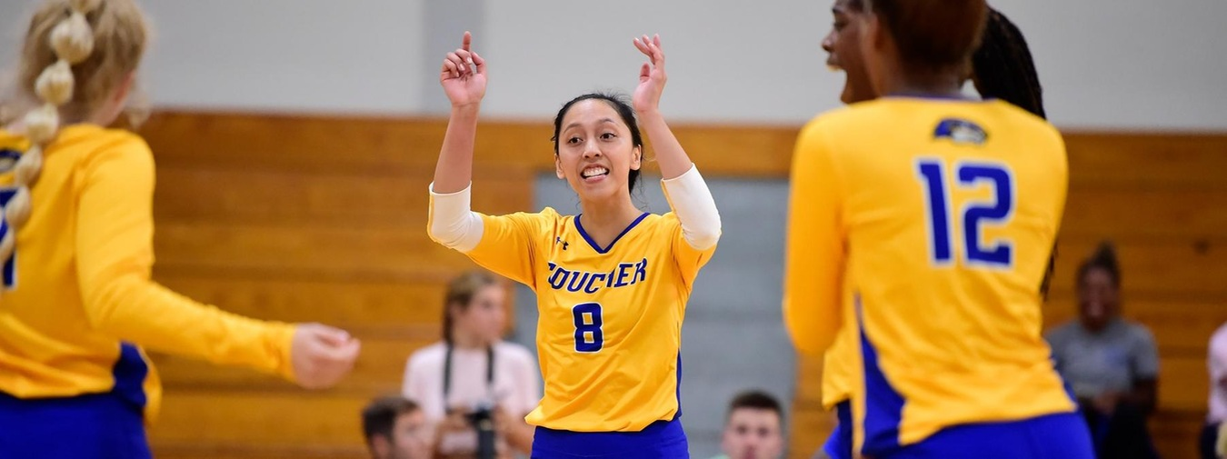 Goucher Women's Volleyball Falls At Catholic