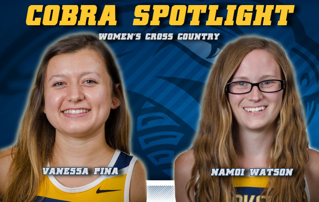 Cobra Spotlight- Vanessa Pina & Namoi Watson, Women's Cross Country