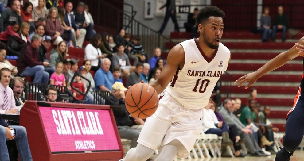 Men's Basketball Plays Next Two on the Road, Faces No. 20 Gonzaga on Saturday