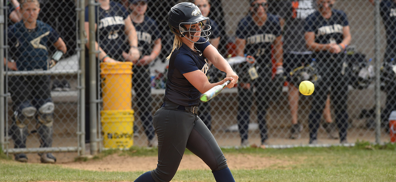 Chrisi Lerchen's RBI single in the second inning gave Juniata a 1-0 lead.