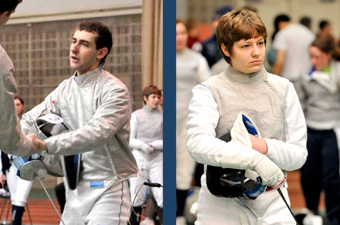 Brandeis fencing finds five competitiors in top four at the Big One Tournament