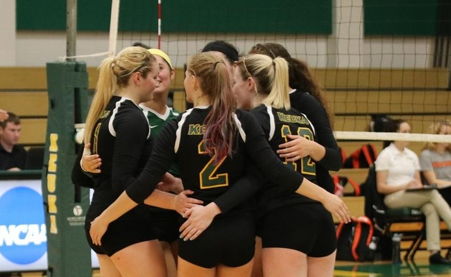 Alfred Defeats Keuka College in Women's Volleyball