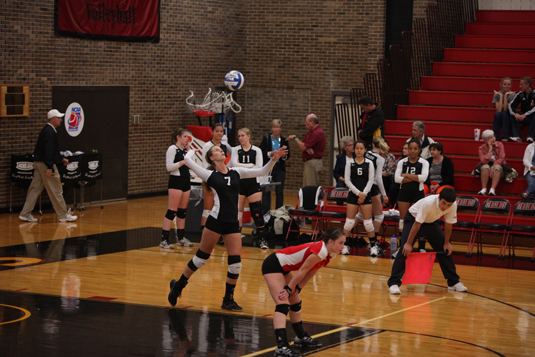 Volleyball drops a pair at Neumann