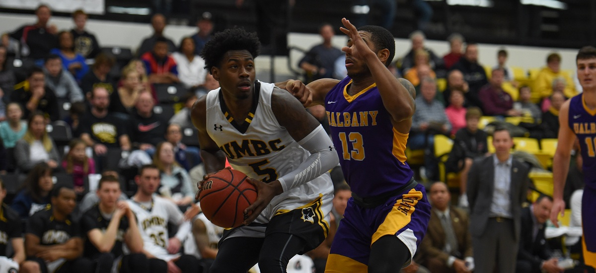 Albany Edges UMBC, 78-69, to Take Over Third Place in America East Race