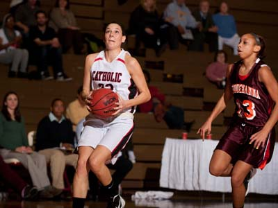 CUA races past TCNJ 59-37 for 14th win