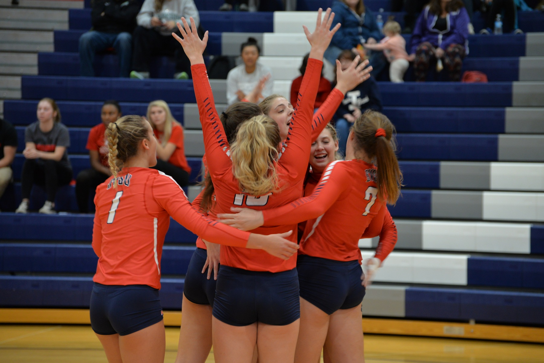 SVSU Volleyball Sweeps Day Two Of Crossover Action
