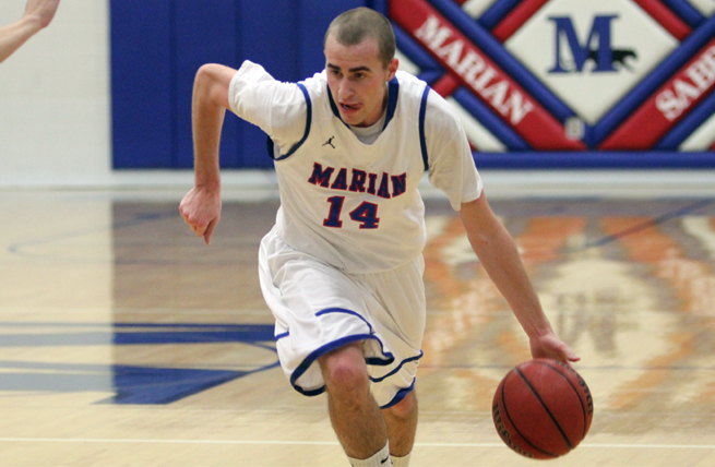 Marian Staves Off Maranatha On the Road, 83-77