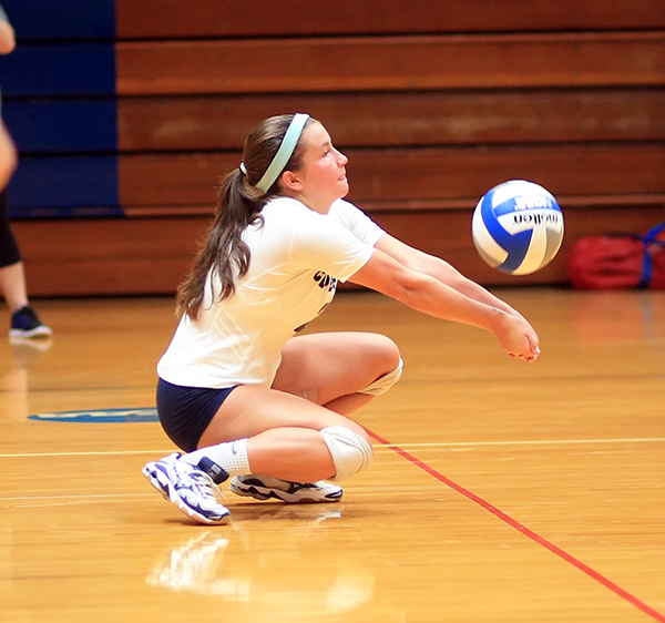 Cape Fear Volleyball Rallies to Win