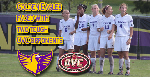 Golden Eagles continue OVC slate with trip to Eastern Kentucky before hosting Morehead State