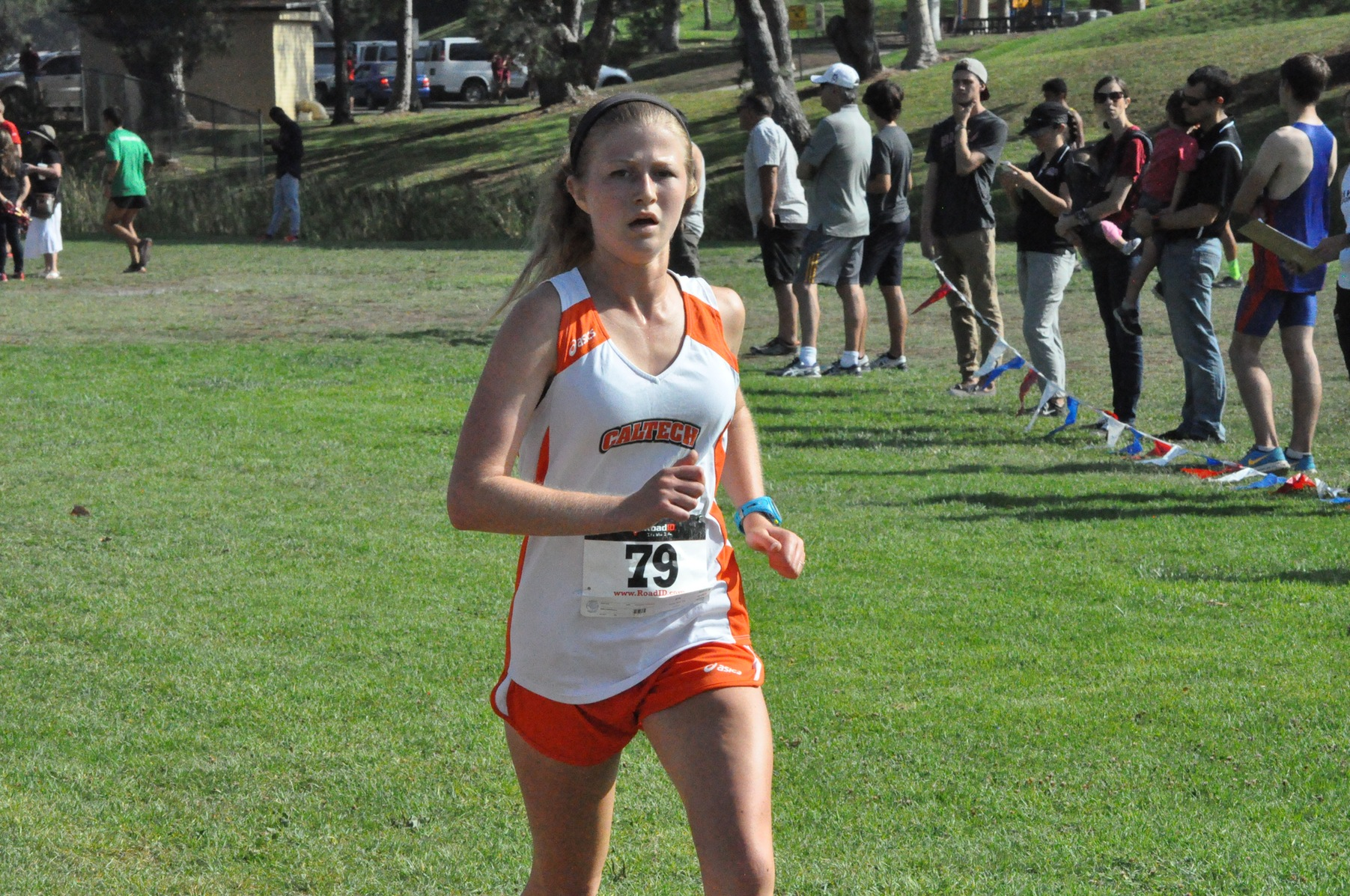 Women's Cross Country Bests Four SCIAC Teams at Multi-Duals