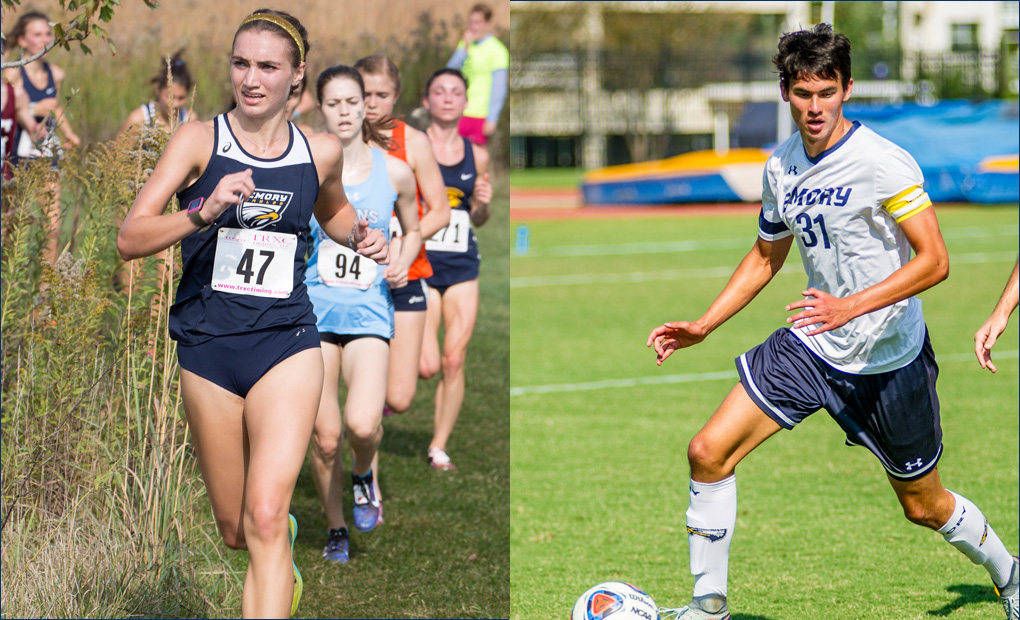 Emory Duo Of McCartney & Stravach Named NCAA Postgraduate Scholarship Recipients