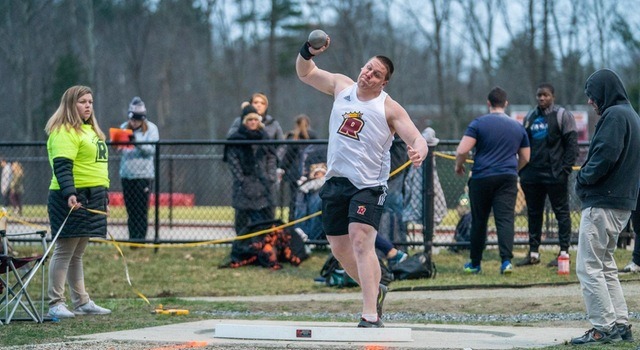 Pride Men's Track & Field Finishes Third at GNACs