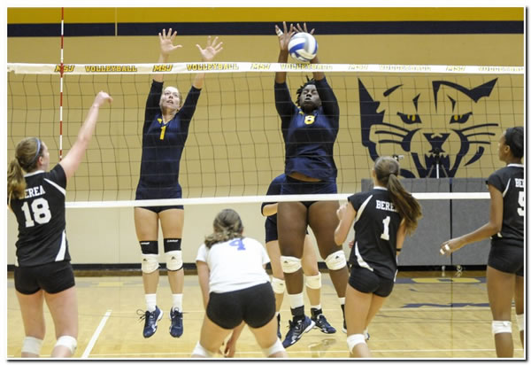 Mount women's volleyball collects two wins on last weekend of regular season