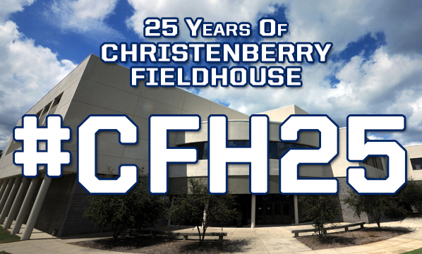 Athletics To Celebrate 25 Years Of Christenberry Fieldhouse