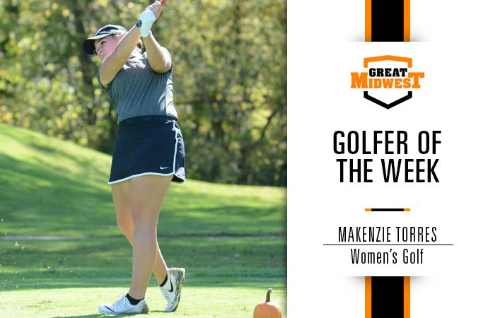 Torres Earns Weekly G-MAC Honors Again