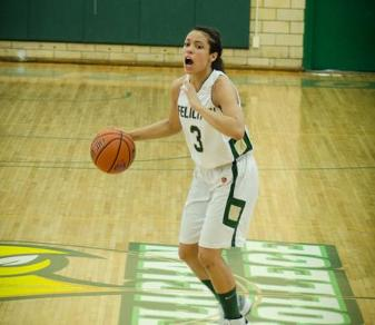 Felician received 15 points, six rebounds, seven assists and six steals from Eliana Scanlon despite an 81-65 home loss to Caldwell on Nov. 25, 2014. (Boris Shabovta)
