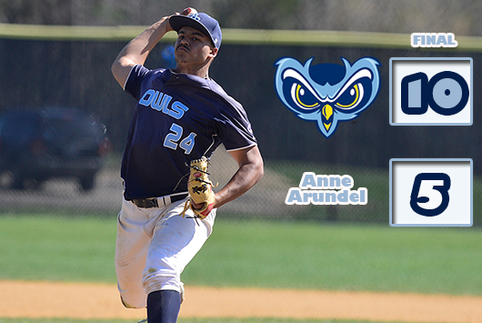 Ninth-Ranked Prince George's Baseball Rallies For Fifth-Straight Victory; Owls Down Anne Arundel, 10-5