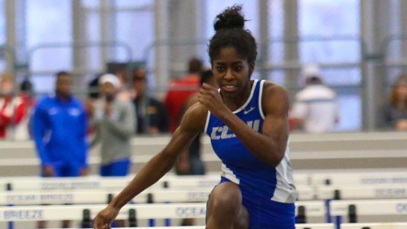 Wolliston Sets New School Record, Women's Track and Field Compete at NEICAAA Championships