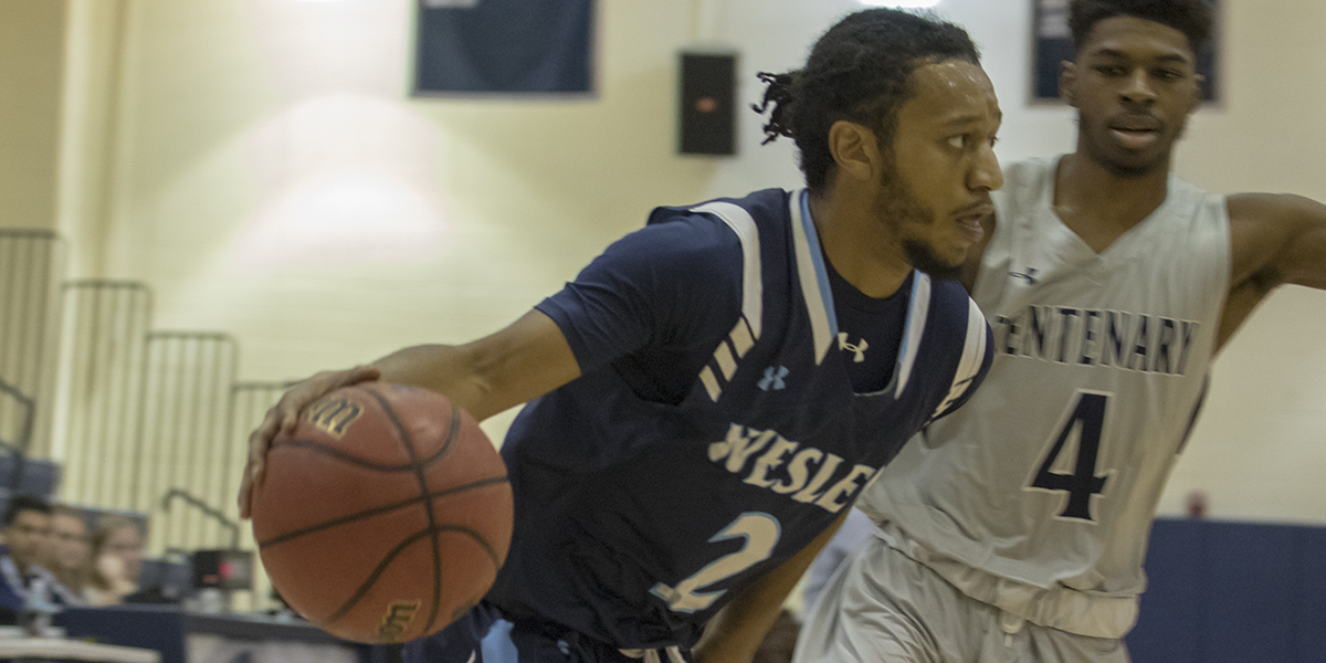 Men's Basketball drops conference clash with Cabrini