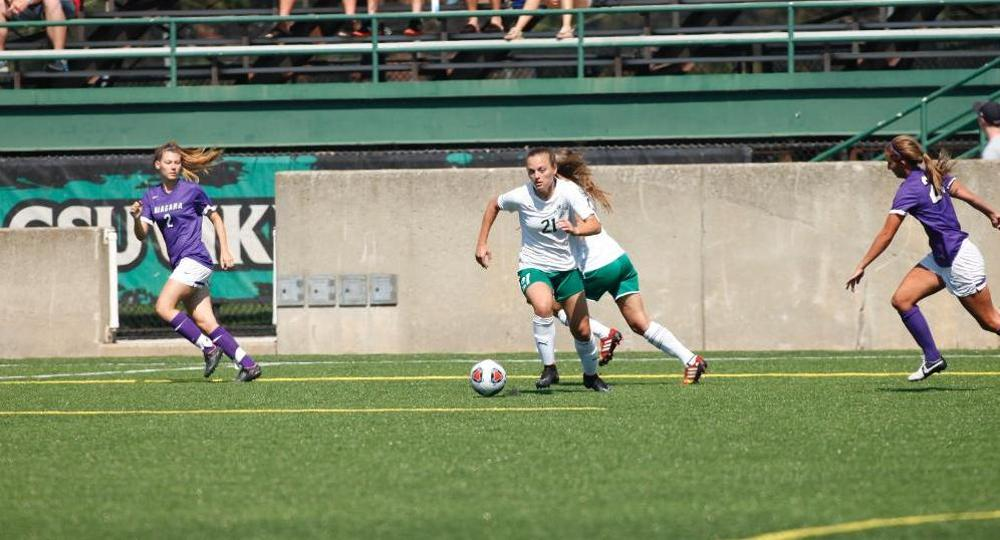 Vikings Stay Perfect in Horizon League With 1-0 Win at Green Bay on Sargema Goal