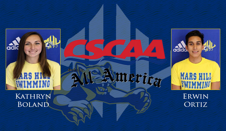 Boland, Ortiz earn CSCAA Scholar All-America honors