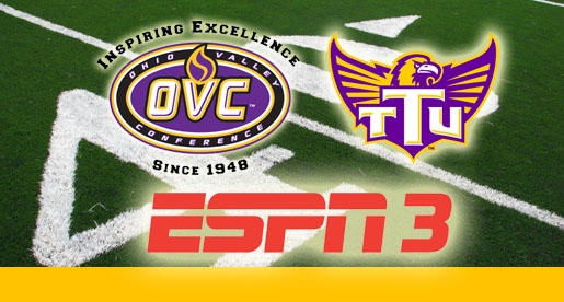 Tech game vs. TSU selected for OVC Game of the Week package on ESPN3