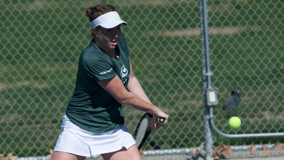 DEPLETED WOMEN'S TENNIS DROPS MATCH 6-1 AT NORTHERN ARIZONA
