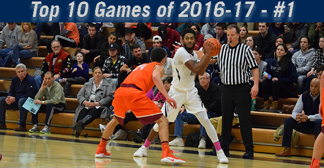 Top 10 Games of 2016-17 - #1 Men's Basketball Rallies Past No. 11 Susquehanna University for Victory over Ranked Opponent Since 2001