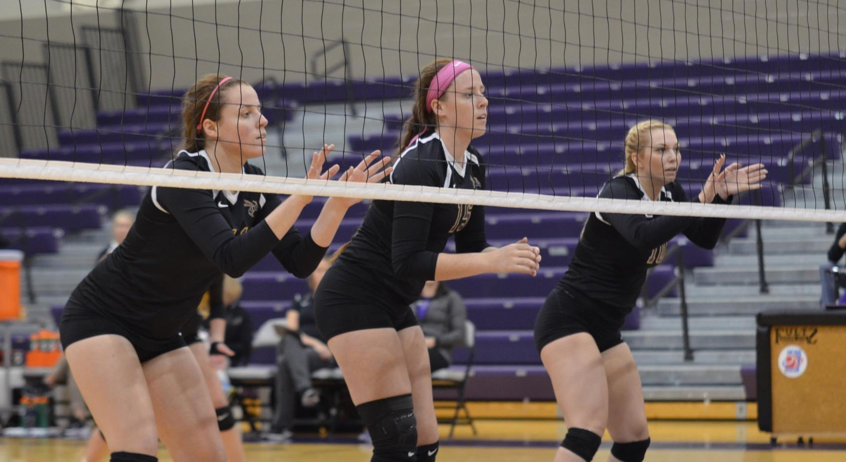 Volleyball Bested at Hanover