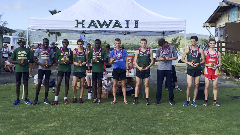 Men's cross country finishes fourth at UH Big Wave Invitational