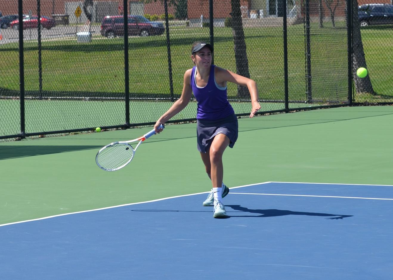 Women's Tennis Hosts Action Packed Day