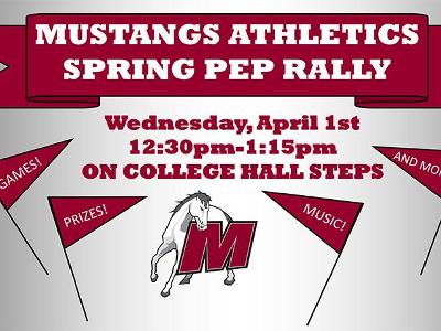 Celebrate Pride, Athletics At Spring Pep Rally