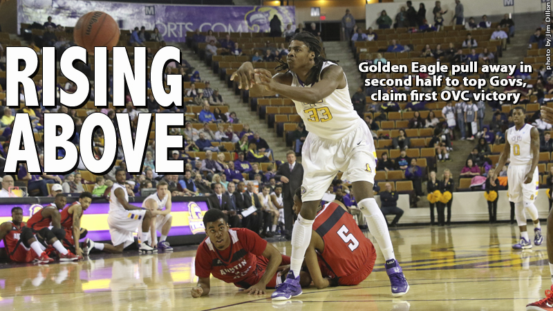 Golden Eagles run away from Governors in second half to claim 72-56 OVC win