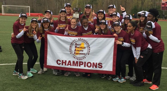 Women's Track & Field Repeats as GNAC Champions!