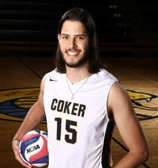 Joao Victor Santos, Coker Men's Volleyball