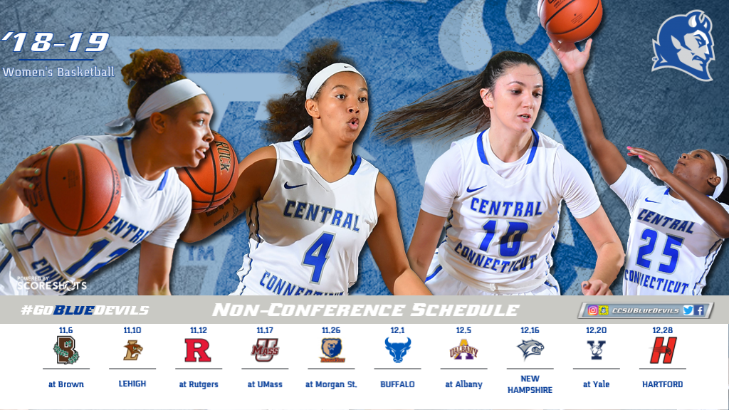 Women's Basketball Finalizes 2018-19 Non-Conference Slate
