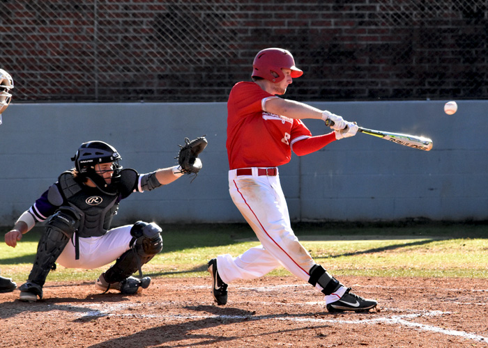 Joseph Calvert had a hit and scored a run in Friday's 3-2 loss to 10th-ranked LaGrange. (Photo by Wesley Lyle)