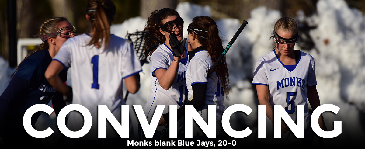 Monks Blank Blue Jays, 20-0