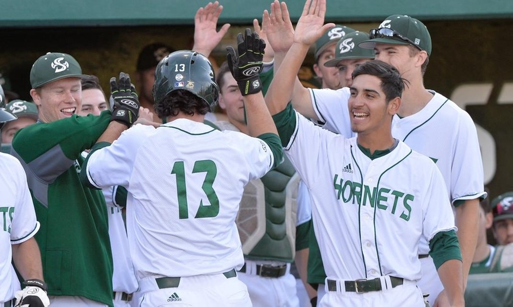 BASEBALL SCORES 9-1 HOME WIN OVER PACIFIC