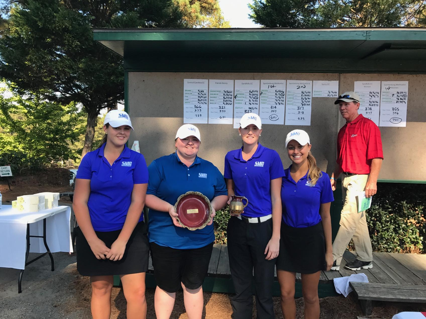 Pioneer Golf Sweeps Event at Sandhills Invitational