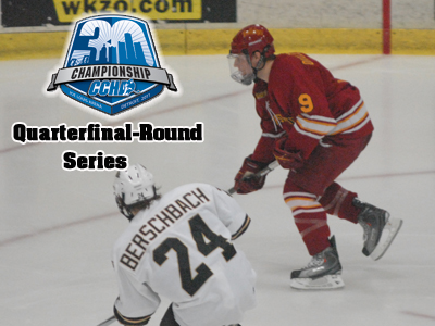 Ferris Hockey Falls 3-1 To Western Michigan In CCHA Tourney Quarterfinal Action