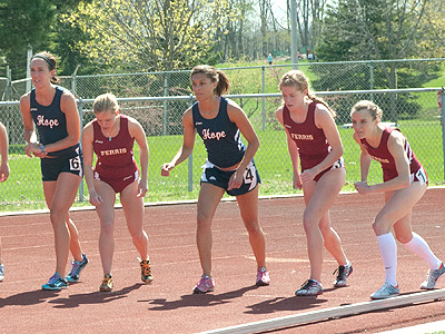 Women's Outdoor Track Ranked 17th Nationally