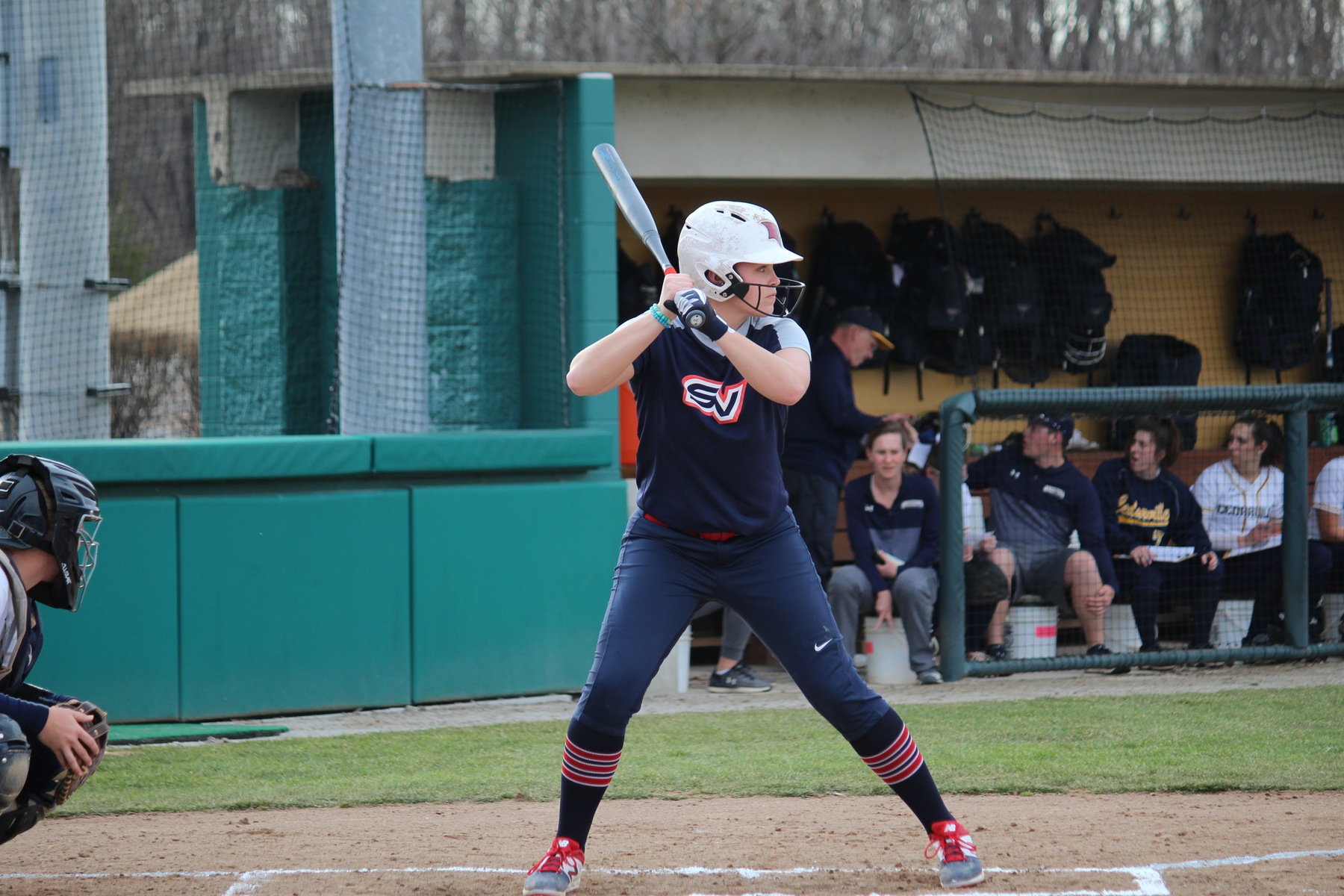 Softball falls twice  to Northwood in weekend action