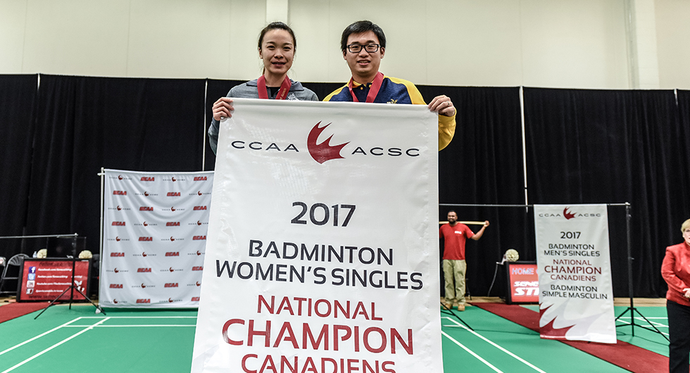THREE-PEAT FOR LEI
