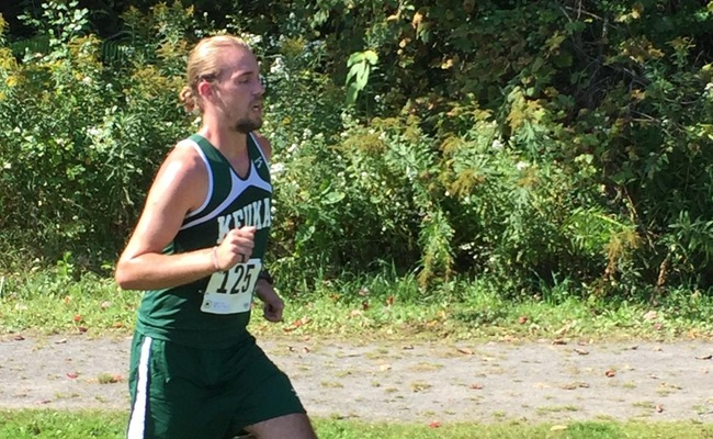 Mack Ottens was the top runner for the Wolves on Saturday